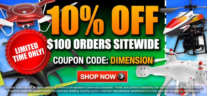 "🔥 TAKE EXTRA 10% OFF WITH COUPON CODE ""DIMENSION"" 🔥"