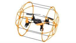 Sky Walker 1306 4 CH  QuadCopter Drone 2.4ghz 6-Axis Gyro Ready to Fly Drones (Orange) RC Remote Control Radio