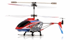 Syma 3 Channel S107G Mini Metal Indoor Co-Axial   Helicopter w/ Gyro (Red) RC Remote Control Radio