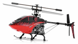 Syma F1 Armor 3 Channel  Helicopter 2.4ghz w/ Gyro (Red) RC Remote Control Radio