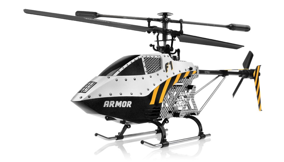 Syma f1 metal armor 3 channel helicopter w gyro for Helicoptere syma