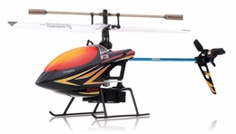 Syma F3 4 Channel  Helicopter 2.4ghz (Black) RC Remote Control Radio