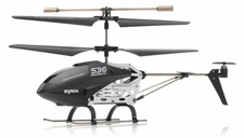 Syma   S36 2.4ghz 3CH Helicopter with Gyro (Black) RC Remote Control Radio