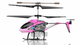 Syma S107P Bubble  3 Channel Helicopter w/ Gyro (Pink) RC Remote Control Radio
