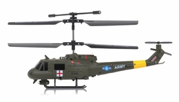 Syma S116G 3 Channel Coaxial Infrared  Helicopter RTF w/ Gyro (Green) RC Remote Control Radio