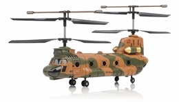 Syma S34 3 Channel Chinook  Helicopter 2.4ghz (Camo) RC Remote Control Radio