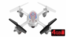 SYMA X11C 2.4G 4CH 6 Axis  Quadcopter Drone with 2.0MP Camera 360 Degree Flip Function w/ 4GB Memory Card (White) RC Remote Control Radio