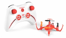 Syma X2 Mini 4 Channel Quadcopter Drone Ready to Fly 2.4ghz with Gyro (Red) RC Remote Control Radio