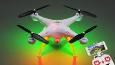 Syma Drone X5HW  Explorers Hover WiFi FPV Camera 2.4G 6-axis Gyro Quadcopter  Ready to Fly (White)