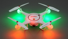 Syma Drone X5UC Hover Camera RC Drone w/ 4GB Memory Card 2.4G 6-axis Gyro Quadcopter Ready to Fly + 2 Drone Batteries
