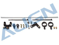 Tail Pitch Assembly without tail rotor holder (PLASTIC) HS1198