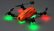 Top RC Hobby Racer Kingdowin KDW280 FPV Racing Drone Quad RTF Ready to Fly (Orange)