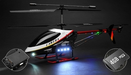 "UDI U12A  3 Channel Helicopter Giant Scale 30"" Metal Version Electric w/ Camera with 4GB Memory card RC Remote Control Radio"