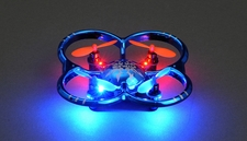 UDI Drone U207 6-Axis UFO Intruder Mini RC Quadcopter Ready to Fly 2.4ghz (Blue)