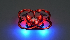 UDI U207 6-Axis UFO Intruder Mini RC Quadcopter Ready to Fly 2.4ghz (Red)
