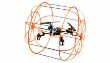 UDI U828 4 Channel Caged QuadCopter Drone 2.4ghz Ready to Fly (Orange) RC Remote Control Radio