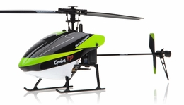 Walkera Genius FP Flybarless RC Helicopter w/ 4 Channel 2.4GHz 2402D LCD Transmitter RTF Combo