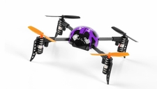 WL Toys Mini Drones  Beetle V939 Quadcopter 4 Channel 2.4Ghz Super Mini (Purple) RC Remote Control Radio