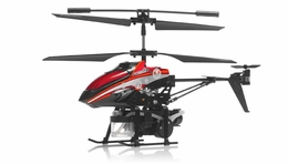 WL Toys V757 Shooting Bubble Master Co-Axial Metal 3.5 Channel  Helicopter w/ Gyro (Red) RC Remote Control Radio