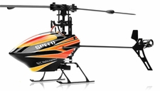 WL Toys V922  CCPM 6 Channel Flybarless Helicopter Ready to Fly (Red) RC Remote Control Radio