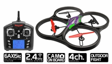 "WLtoys V333 2.4G 6 Axis Large 21.65"" UFO Quadcopter Drone RTF with Camera (Green) RC Remote Control Radio UAV"