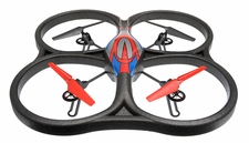 WLtoys V333 UFO Drone 6 Axis Gyro Headless Mode Quadcopter Drone 2.4ghz RTF  (Red) RC Remote Control Radio