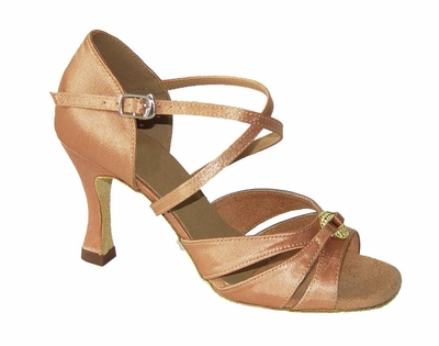 Light flesh Satin Sandal 175601