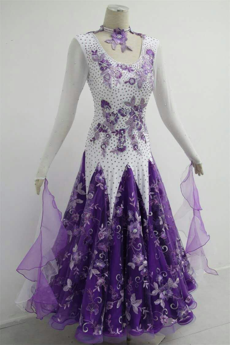 Affordable ballroom competition dresses B1571