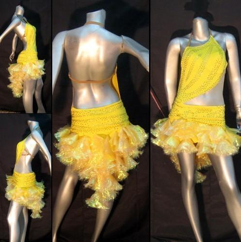Yellow dress for the dance L598
