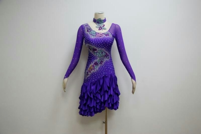 L962 dance dress online shop