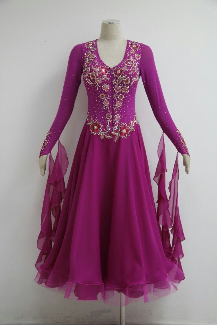Womens ballroom dance dresses B1572