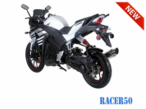 Tao Tao 50cc Racer Scooter Motorcycle Automatic Full