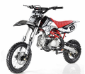 """Apollo DB-X15 Ultra-Elite 125cc Pit / Dirt Motorcycle. -Twin-Spar Tubular Frame (Compare to Honda) -Upgraded Rear Swing-Arm - 14"""" Front Wheel -"""