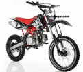 """Apollo/Orion Ultra-Elite 125cc Pit / Dirt Motorcycle. -Twin-Spar Tubular Frame (Compare to Honda) -Upgraded Rear Swing-Arm - 17"""" Front Wheel - Inverted Forks -"""