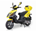 "BMS Tuscan 50cc Deluxe Scooter with 12"" Wheels & CVT Automatic Transmission - Motobuys.com"