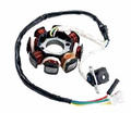 Chinese Parts - 125/150cc 8-Coil Magneto/Stator from Motobuys.com