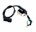Chinese Parts - 50-150cc 4-Stroke Ignition Coil with Mounting Bracket from Motobuys.com