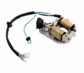 Chinese Parts - 70-125cc Electric Start 4-Stroke 2-Coil Magneto/Stator from Motobuys.com