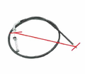 Chinese Parts - B1 Style 41� Brake Cables from Motobuys.com