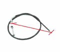 Chinese Parts - B1 Style 48� Brake Cables with in Line Adjuster from Motobuys.com