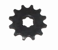 Chinese Parts - Drive Sprocket No Bolt Hole Version 17Mm Chain Sprocket from Motobuys.com