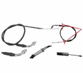 Chinese Parts - T2 Hook Style 31� Throttle Cables from Motobuys.com