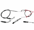 Chinese Parts - T2 Hook Style 32� Throttle Cables from Motobuys.com