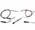 Chinese Parts - T2 Hook Style 44� Throttle Cables from Motobuys.com