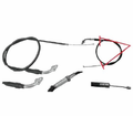 Chinese Parts - T2 Hook Style 70.5� Throttle Cables from Motobuys.com