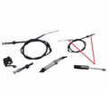 Chinese Parts - T3 Atv Style 34� Throttle Cables from Motobuys.com