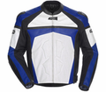 Cortech - Adrenaline Leather Jacket B/W from Motobuys.com