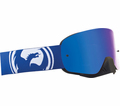 Dragon - Nfx - Blue White Split Blue Steel Lens Eyewear from Motobuys.com