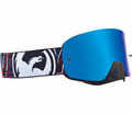 Dragon - Nfx - Overlap Blue Steel Lens Eyewear from Motobuys.com