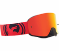 Dragon - Nfx - Red Black Split Red Ion Lens Eyewear from Motobuys.com